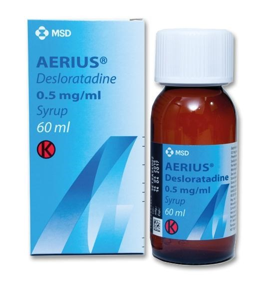 Aerius Syrup 0.5mg/ml
